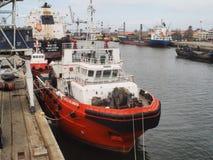 Puerto del envase de Matosinhos Fotos de archivo libres de regalías