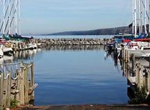 Puerto del lago Imagenes de archivo