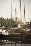 Puerto del museo del Gouda Fotos de archivo