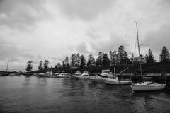 Puerto del ocio de Kiama, Nuevo Gales del Sur, Australia Fotografía de archivo