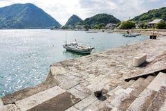 Puerto del oeste de Misumi fotos de archivo libres de regalías