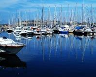 Puerto del placer Foto de archivo libre de regalías