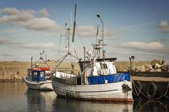Puerto del pueblo de Svanshall Foto de archivo