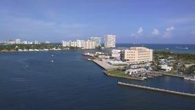 Puerto del puerto de la travesía del Fort Lauderdale Foto de archivo libre de regalías