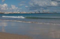 Puerto del Rosario imagen de archivo libre de regalías