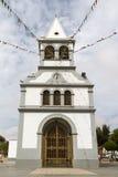 Puerto Del Rosario kościół, Fuerteventura, artykuł wstępny Zdjęcia Royalty Free