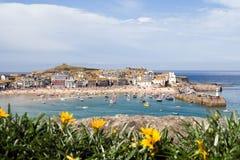 Puerto del St Ives Imagen de archivo