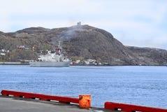 Puerto del St. Johns, Terranova, Canadá Imagenes de archivo