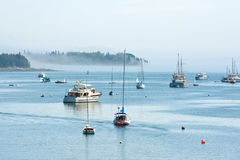 Puerto del sudoeste, Maine Imagen de archivo