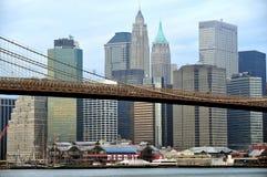 Puerto del sur de la calle en Manhattan Nueva York Foto de archivo libre de regalías