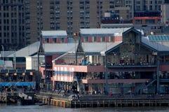 Puerto del sur de la calle, New York City Foto de archivo