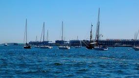 Puerto del verano Imagen de archivo