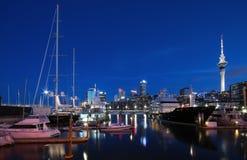 Puerto del viaducto de Auckland Fotos de archivo libres de regalías