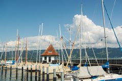 Puerto del yate Fotografía de archivo libre de regalías