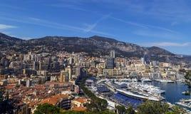 Puerto del yate en Mónaco Imagen de archivo libre de regalías