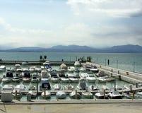 Puerto deportivo fotografía de archivo libre de regalías