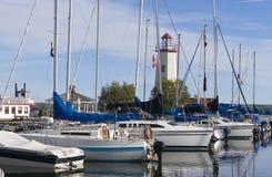 Puerto deportivo foto de archivo
