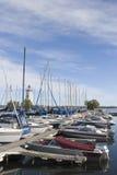 Puerto deportivo 3 foto de archivo libre de regalías