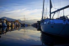 Puerto deportivo Imagenes de archivo