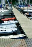 Puerto deportivo Imágenes de archivo libres de regalías