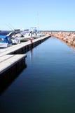 Puerto deportivo australiano del centro turístico Imagenes de archivo