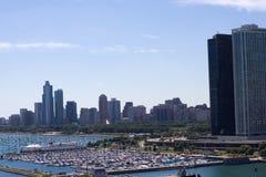 Puerto deportivo céntrico Imagenes de archivo