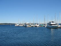 Puerto deportivo canadiense fotografía de archivo