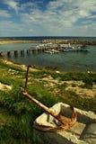 Puerto deportivo, Chipre norteño Fotos de archivo