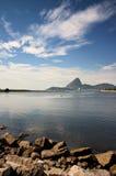Puerto deportivo DA Glória Fotografía de archivo libre de regalías