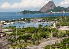 Puerto deportivo DA Gloria Imagen de archivo libre de regalías