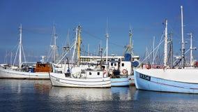 Puerto deportivo danés Imagen de archivo libre de regalías