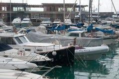 Puerto deportivo de Adriano del puerto Imagen de archivo libre de regalías
