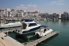 Puerto deportivo de Agadir, Marruecos Fotos de archivo libres de regalías