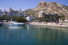 Puerto deportivo de Alicante Foto de archivo