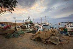 Puerto deportivo de Alimos en Atenas Foto de archivo