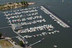 Puerto deportivo de arriba Fotografía de archivo
