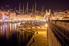 Puerto deportivo de Bastia Imágenes de archivo libres de regalías