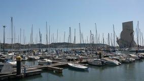 Puerto deportivo de Belem Imagenes de archivo