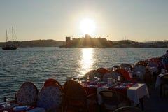 Puerto deportivo de Bodrum Imágenes de archivo libres de regalías