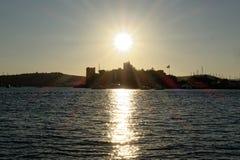Puerto deportivo de Bodrum Imagenes de archivo