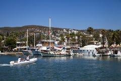 Puerto deportivo de Bodrum imagen de archivo libre de regalías