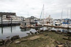 Puerto deportivo de Boston imagenes de archivo
