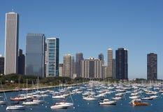 Puerto deportivo de Chicago Fotografía de archivo libre de regalías