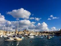 Puerto deportivo de Cottonera Imágenes de archivo libres de regalías