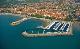 Puerto deportivo de Diano Imagen de archivo libre de regalías