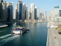 Puerto deportivo de Dubai Fotos de archivo