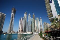 Puerto deportivo de Dubai Foto de archivo libre de regalías