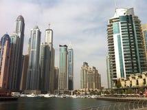 Puerto deportivo de Dubai Imagen de archivo