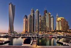 Puerto deportivo de Dubai imágenes de archivo libres de regalías