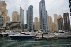 Puerto deportivo de Dubai Fotografía de archivo libre de regalías